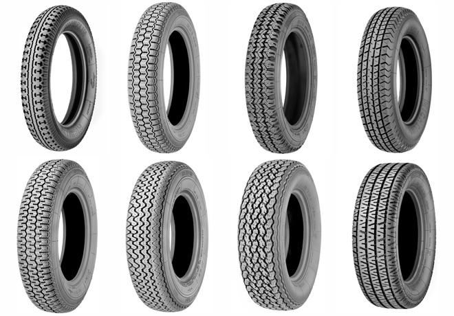 Michelin tiene un neumatico para cada vehiculo de la epoca