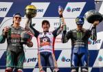 MotoGP - Chang - Tailandia 2019 - Fabio Quartararo - Marc Marquez - Maverick Vinales en el Podio