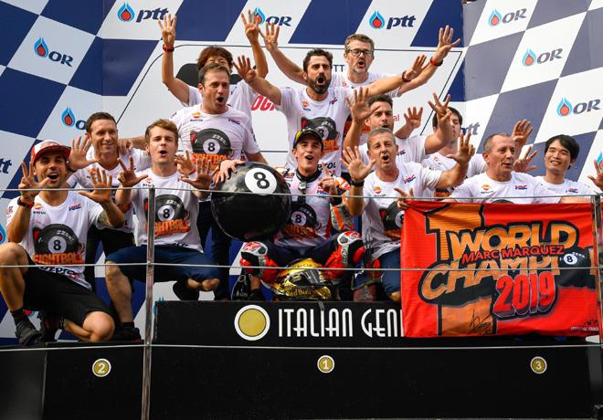 MotoGP - Chang - Tailandia 2019 - Marc Marquez - Campeon