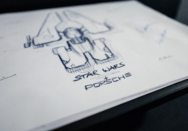 Porsche y Lucasfilm disenian conjuntamente una nave espacial de fantasia 1