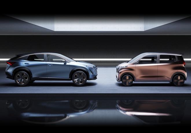 Prototipos Nissan IMk y Ariya