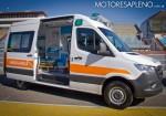 Prueba dinamica de la Nueva Mercedes-Benz Sprinter en el Autodromo de Buenos Aires 3