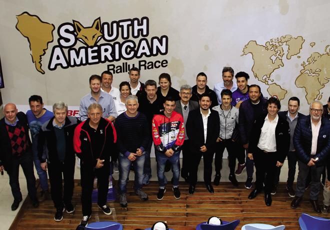 Se presento el South American Rally Race Argentina 2020