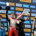 TC2000 - Obera 2019 - Carrera Final - Lucas Vicino - Ingnacio Julian - Martin Chialvo en el Podio