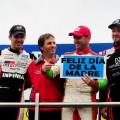 Top Race - La Plata 2019 - Carrera - Matias Rossi - Ricardo Risatti - Agustin Canapino en el Podio
