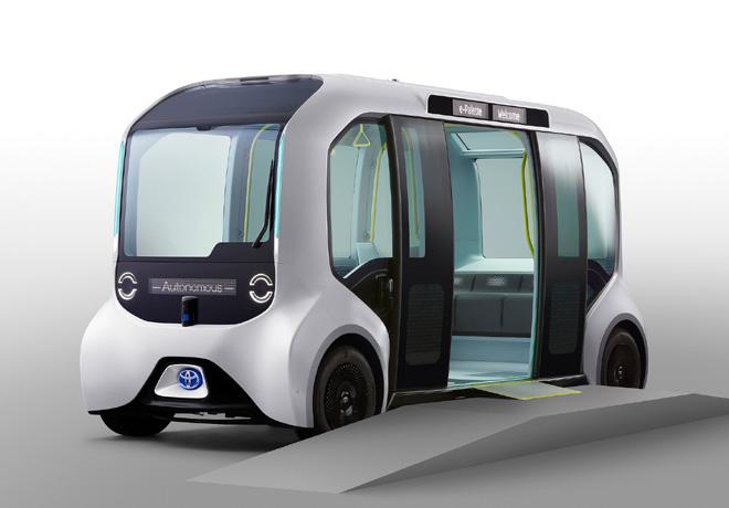 Toyota e-Palette version Tokyo 2020 1