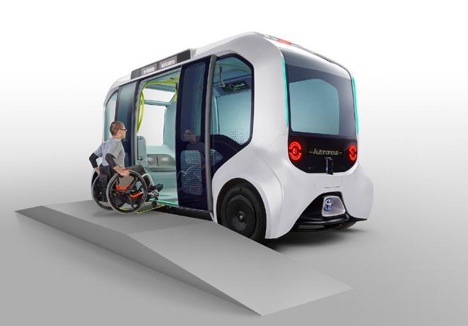 Toyota e-Palette version Tokyo 2020 2