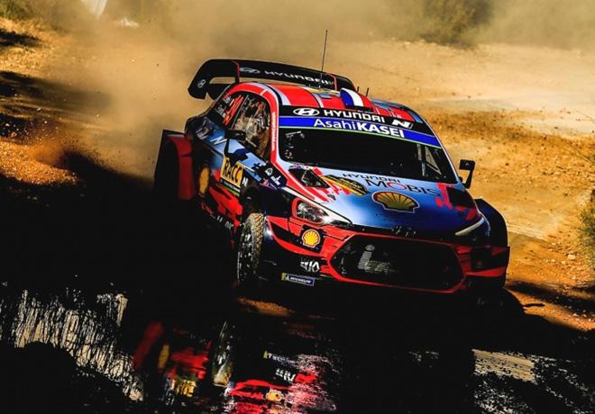 WRC - Catalunya 2019 - Dia 1 - Sebastian Loeb - Hyundai i20 WRC