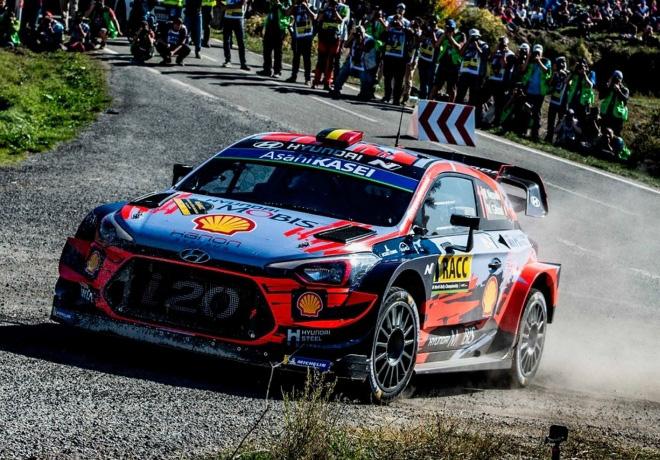 WRC - Catalunya 2019 - Dia 2 - Thierry Neuville - Hyundai i20 WRC
