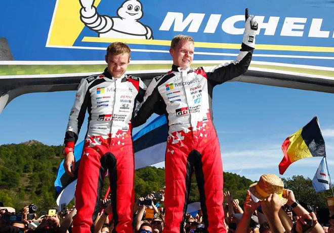 WRC - Catalunya 2019 - Final - Ott Tanak - Campeon
