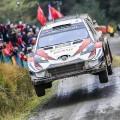 WRC - Gales 2019 - Dia 2 - Ott Tanak - Toyota Yaris WRC