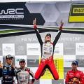 WRC - Gales 2019 - Final - Ott Tanak en el Podio