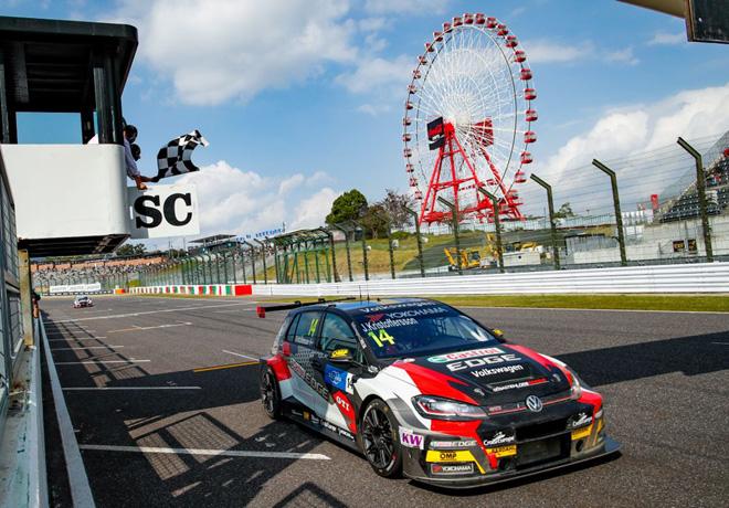 WTCR - Suzuka - Japon 2019 - Carrera 3 - Johan Kristoffersson - VW Golf GTi TCR