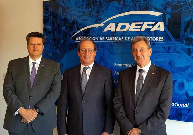 ADEFA - Autoridades 2019-2020 - Federico Ovejero -VP- Gabriel Lopez -Presidente- Daniel Herrero -Secretario