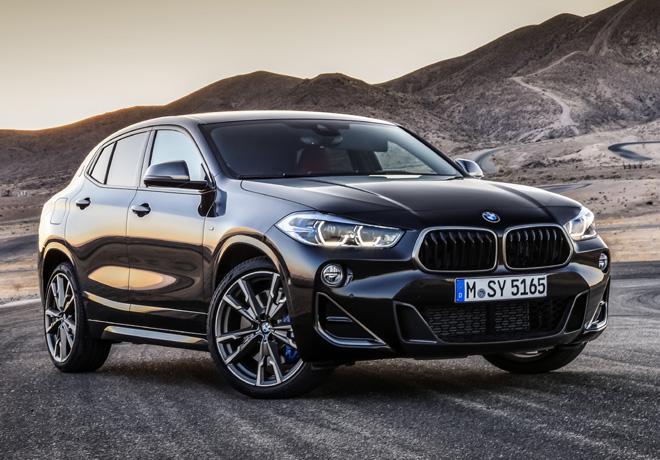 Se amplió la familia del BMW X2 con una nueva versión: M35i, con más potencia y deportividad.
