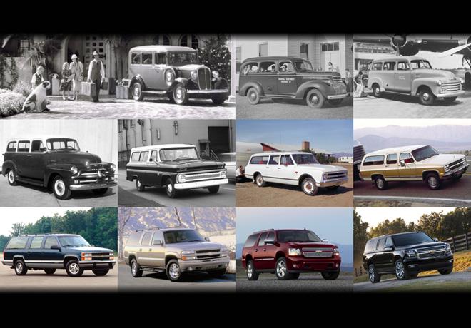 Chevrolet Suburban cumple 85 anios