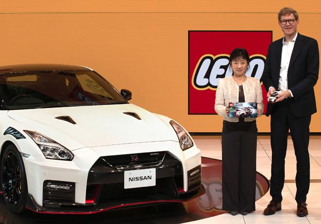 EL Grupo LEGO da vida al emblematico Nissan GT-R NISMO en bloques