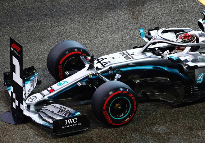 F1 - Abu Dhabi 2019 - Clasificacion - Lewis Hamilton - Mercedes GP