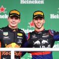 F1 - Brasil 2019 - Carrera - Max Verstappen y Pierre Gasly en el Podio