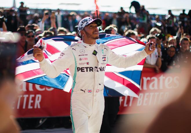 F1 - Estados Unidos 2019 - Carrera - Lewis Hamilton - Campeon