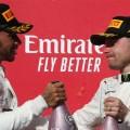 F1 - Estados Unidos 2019 - Carrera - Lewis Hamilton y Valteri Bottas en el Podio