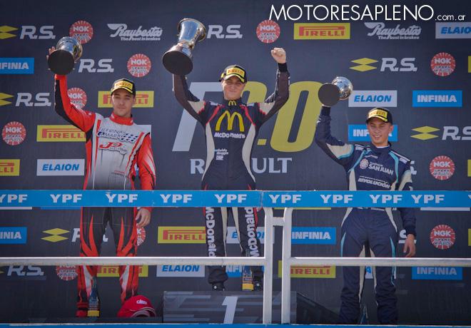 Fórmula 2.0 by Renault en Buenos Aires – Carrera 2: Moggia logró la cuarta victoria del año, de principio a fin.