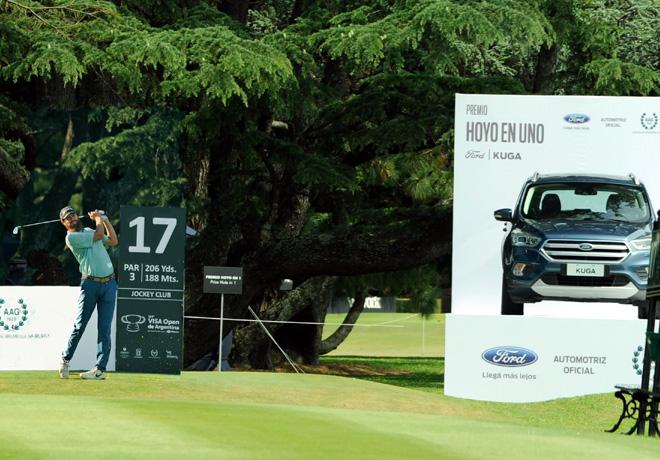 Ford y el golf profesional - Evan Harmeling - Visa Open de Argentina