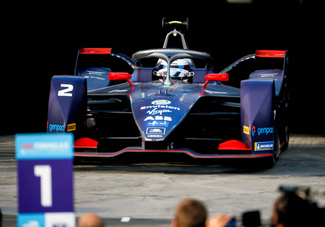 Formula E - Ad Diriyah - Arabia Saudita 2019 - Carrera 1 - Sam Bird - Envision Virgin Racing