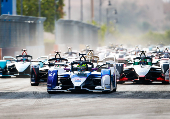 Formula E - Ad Diriyah - Arabia Saudita 2019 - Carrera 2 - Alexander Sims - BMW I Andretti Motorsport