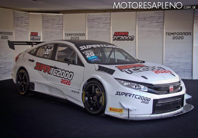 Se presentó en Buenos Aires el auto 2020 del Super TC2000.