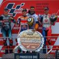 MotoGP - Valencia 2019 - Fabio Quartararo - Marc Marquez - Jack Miller en el Podio