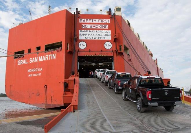 Nissan exporta su Frontier numero 10 mil de fabricacion en Argentina