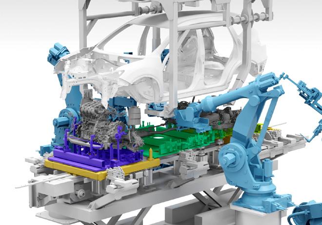 Nissan invierte 33 mil millones de yenes en tecnologias para sus centros de manufactura
