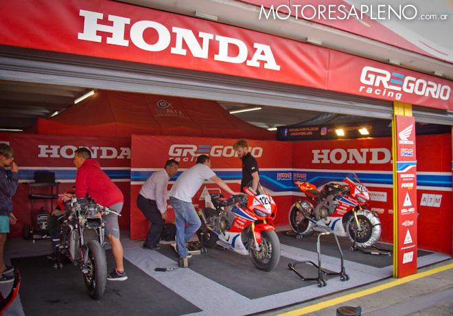 Superbike - Honda Gregorio Racing 1