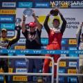 TC2000 - Buenos Aires II 2019 - Carrera Final - Rodrigo Lugon - Jose Manuel Sapag - Tomas Cingolani en el Podio