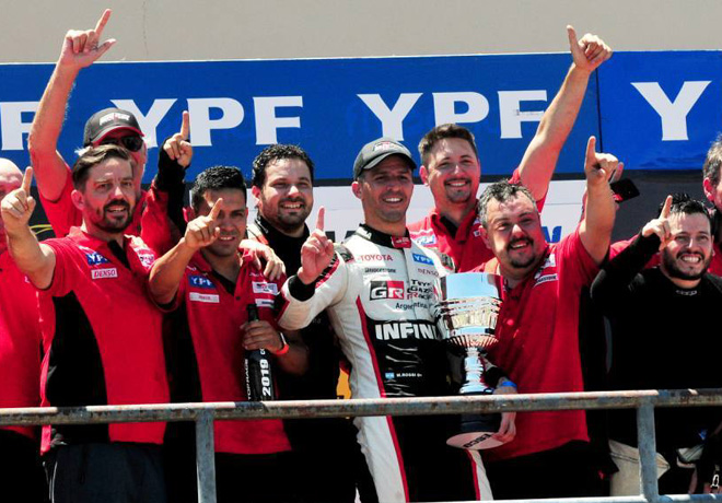 Top Race - Concordia 2019 - Carrera - Matias Rossi -Campeon- en el Podio