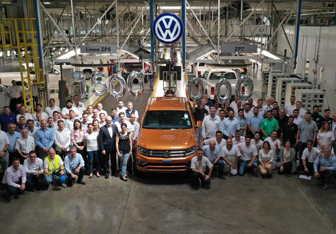 Volkswagen Group Argentina celebra la producción de 1.5 millones de unidades en el Centro Industrial Pacheco.