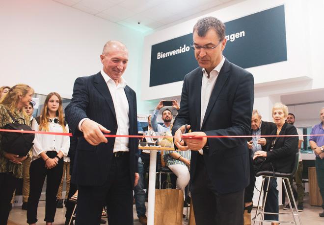 VW inauguro un nuevo concesionario oficial en Zarate