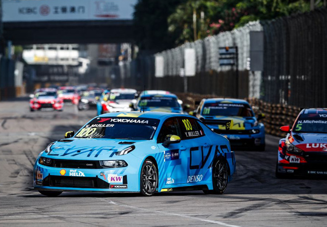 WTCR - Macao 2019 - Carrera 1 - Yvan Muller - Lynk & Co 03