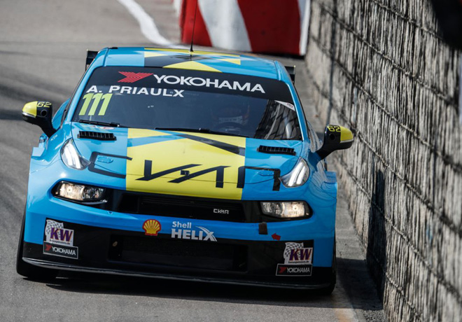 WTCR - Macao 2019 - Carrera 3 - Andy Priaulx - Lynk & Co 03