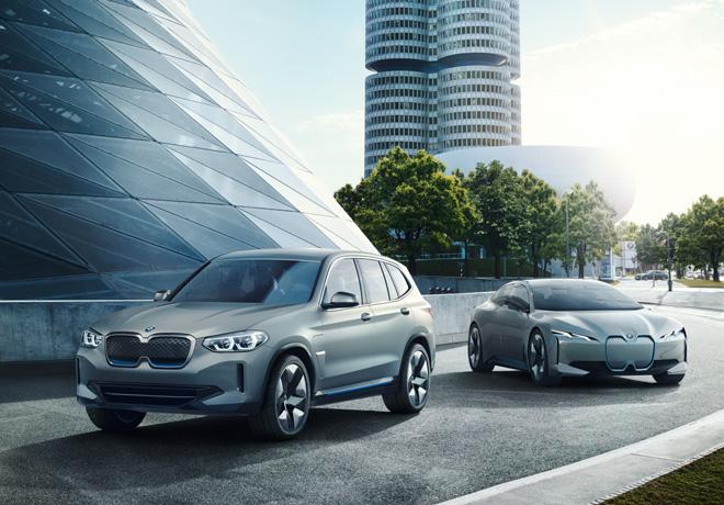 BMW iX3 y BMW i Vision Dynamics