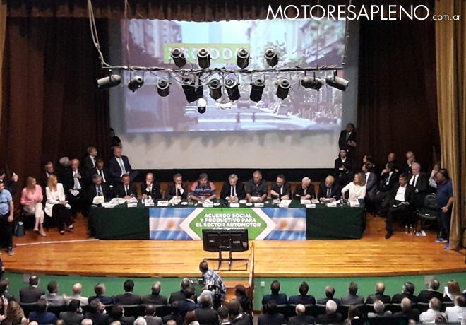 El sector automotor presento su Plan social y productivo 2030