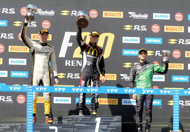 FR20 - Neuquen 2019 - Carrera 1 - El Podio