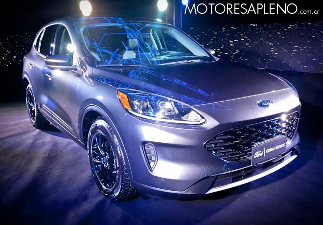 Ford Argentina anuncia la llegada del Nuevo Kuga Híbrido.