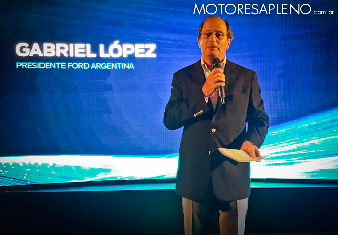 Gabriel Lopez - Presidente de Ford Argentina
