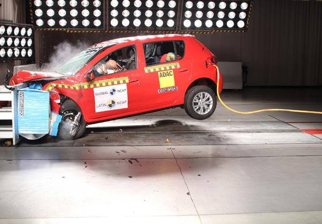 Latin NCAP - Renault Sandero-Logan-Stepway - con 4 Airbags 1