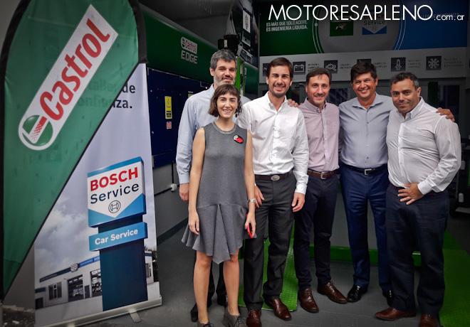 Los talleres de Bosch llegan con Castrol a AXION energy 1