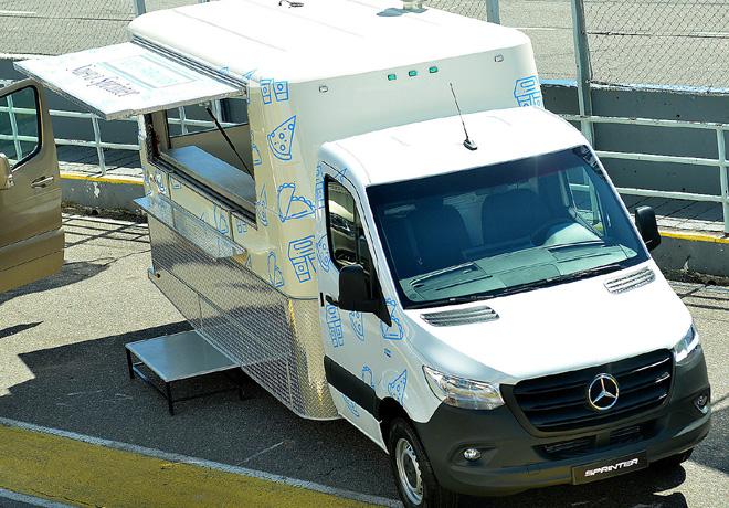 Mercedes-Benz Sprinter Food Truck 1