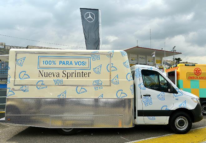 Mercedes-Benz Sprinter Food Truck 2