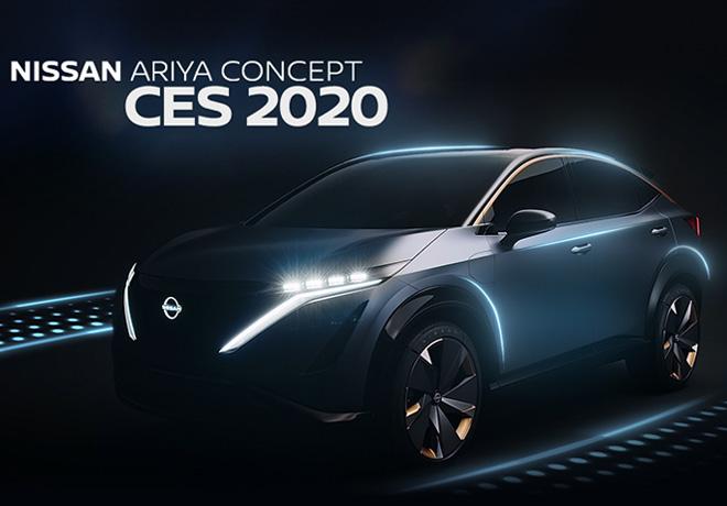 Nissan Ariya Concept CES 2020